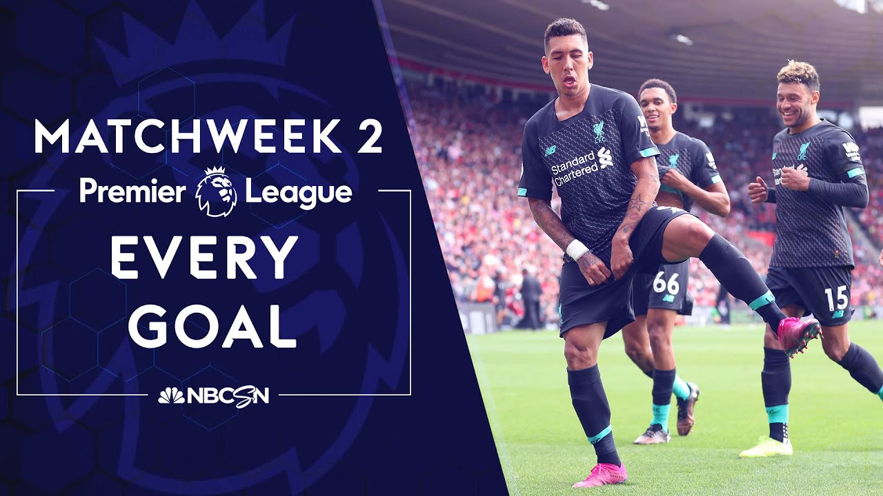 Every goal from Premier League 2019/20 Matchweek 2 | NBC Sports