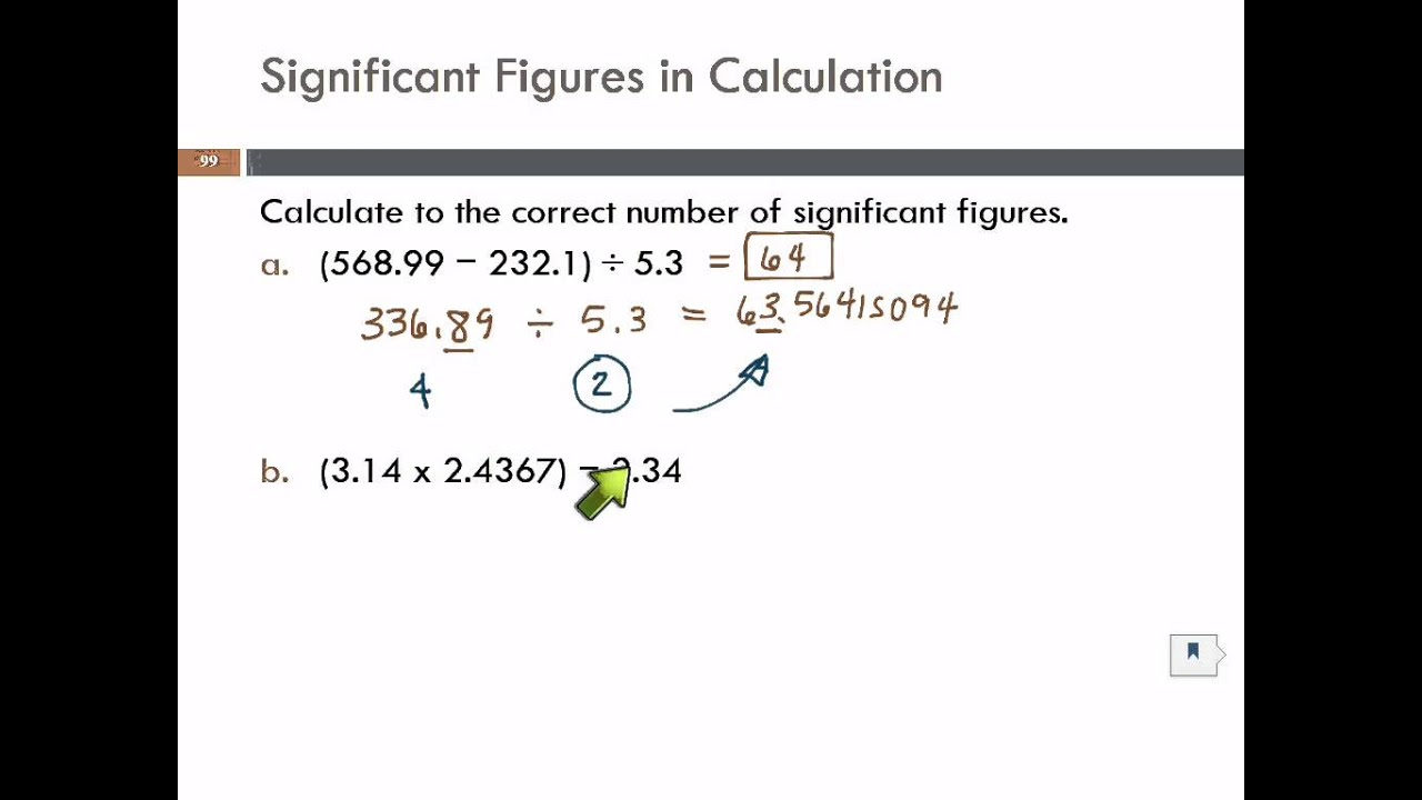 Significant Figures In Mixed Calculations  Youtube