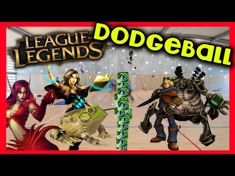 League of Legends Dodgeball - KTO GRA W ZBIJAKA?