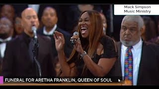 Aretha Franklin Funeral Celebration - Yolanda Adams and Paul Morton