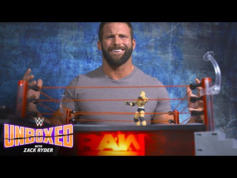 Zack Ryder goes to the mat with Mattel's Raw Main Event Ring: WWE Unboxed with Zack Ryder