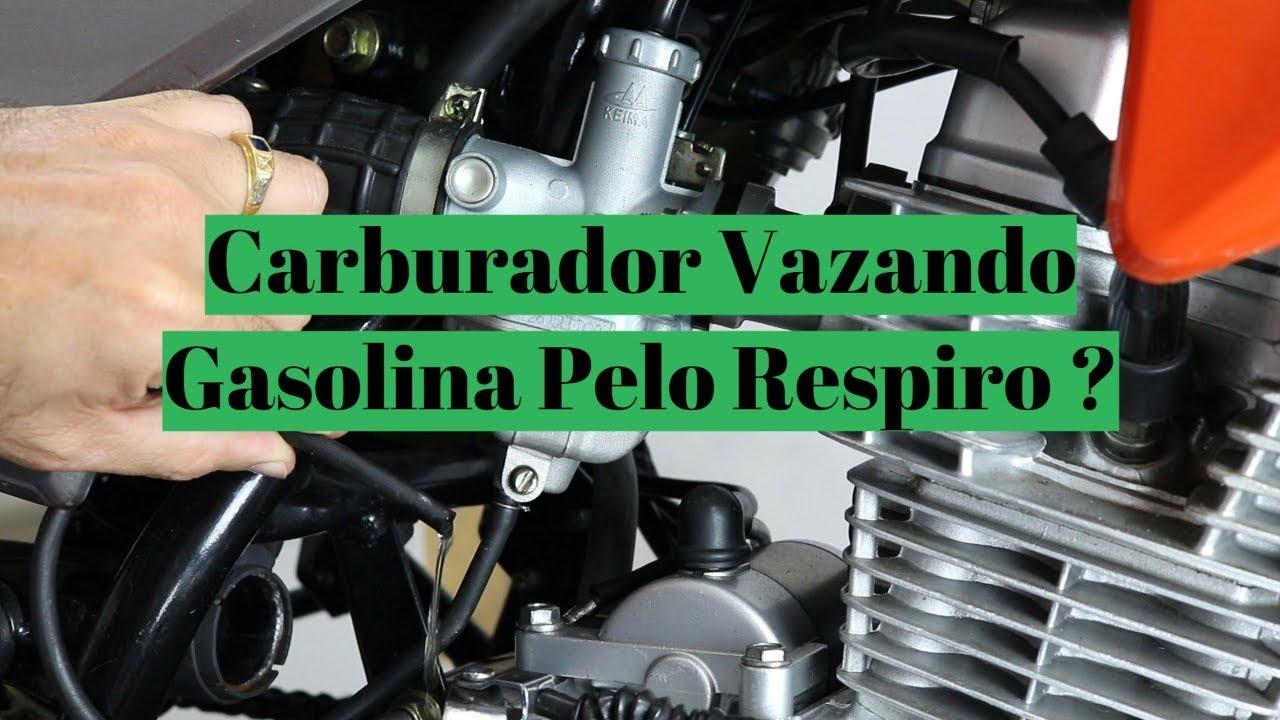 Carburador de Moto Vazando Gasolina pelo Respiro ou Gotejando Gasolina Super Dica !