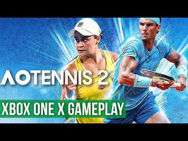 AO Tennis 2 - Gameplay (Xbox One X) HD
