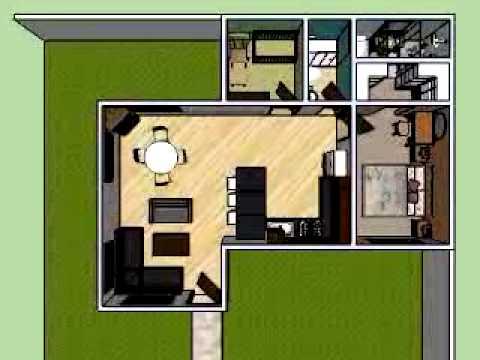 Dise o de apartamento para recien casado youtube for Diseno de apartamentos de 45m2