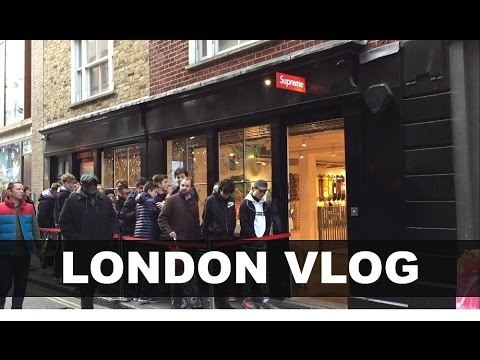 Best LONDON Streetwear/Fashion Shops to Visit!! (Palace, Supreme, Selfridges...)
