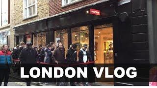 Best LONDON Streetwear/Fashion Shops to Visit!! (Palace, Supreme, Selfridges...)