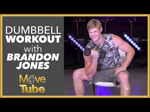 Brandon Jones 10 Minute Dumbbell Workout!