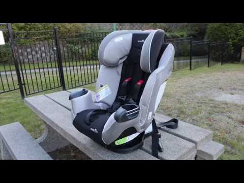 Evenflo Symphony LX Car Seat Review (Best Buy Canada)