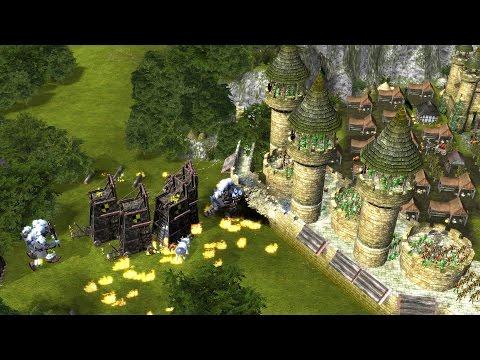 Stronghold Legends Steam Edition - 1v1v1 THE SIEGE MASTERS | Multiplayer Gameplay