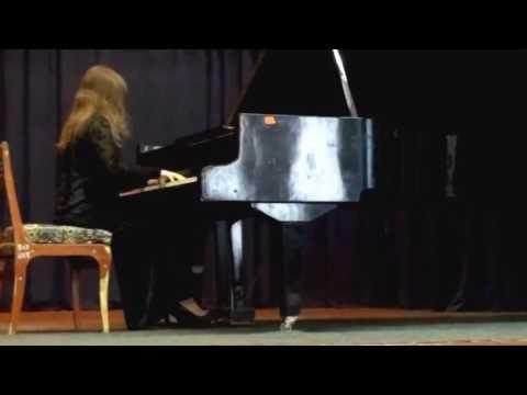 Anna Fedorova   Scriabin Etude Op  8 No  12 HD