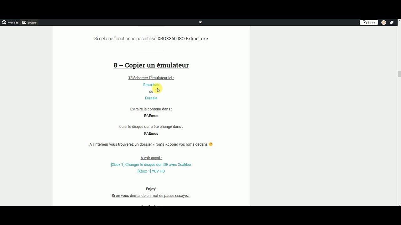 GRATUIT XBOX TÉLÉCHARGER XCALIBUR