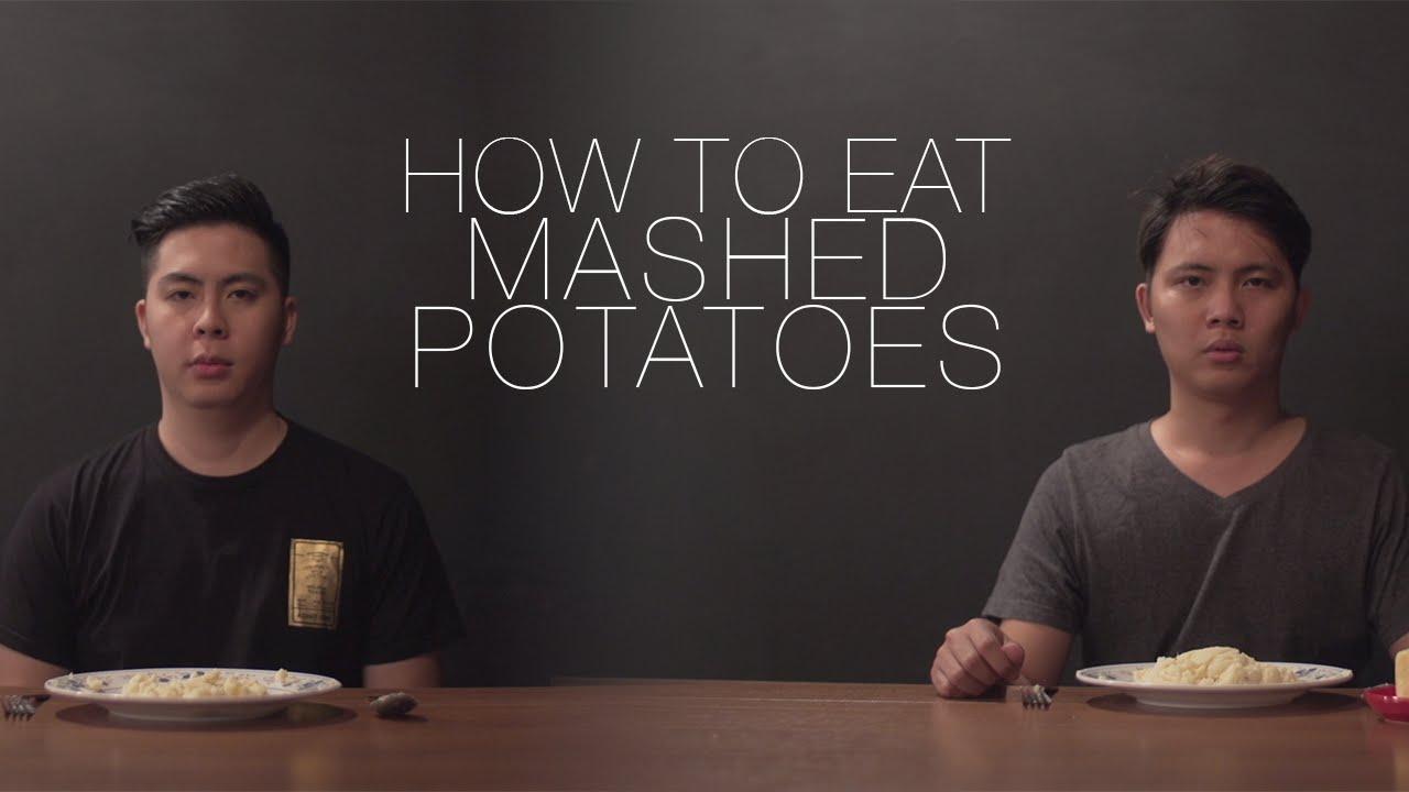 How to eat potatoes