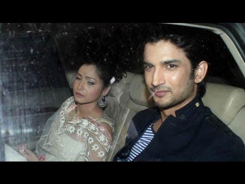 Sushant Singh Rajput & Ankita Lokhande @ Shahrukh Khan's Eid Party ...