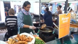 Indian Street Food - Samosa Chaat & Thalis