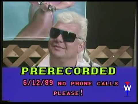 "Exclusive Int. with ""Pretty Boy Larry Sharpe, Wrestling Talk June 12, 1989"