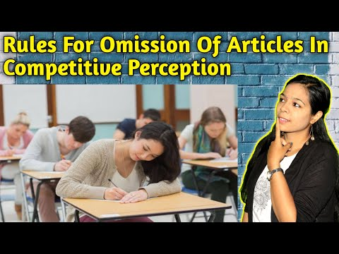 Rules for using 'The' and 'Omission of articles'👍👨🎓
