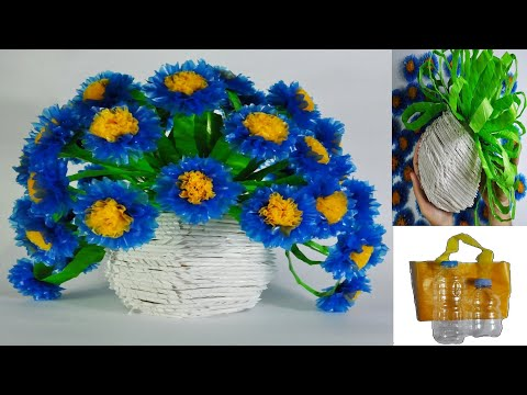 Diy Cara Membuat Bunga Plastik Kresek Terbaru How To Make Plastic Flowers Youtube
