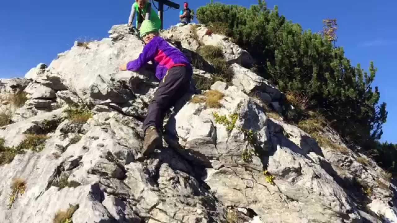Klettersteig Tegernsee : Tegernseer hütte roßstein und buchstein youtube