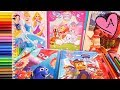 Dibujos para colorear de Princesas Disney, Patrulla canina, Moana   Muñecas y juguetes con Andre