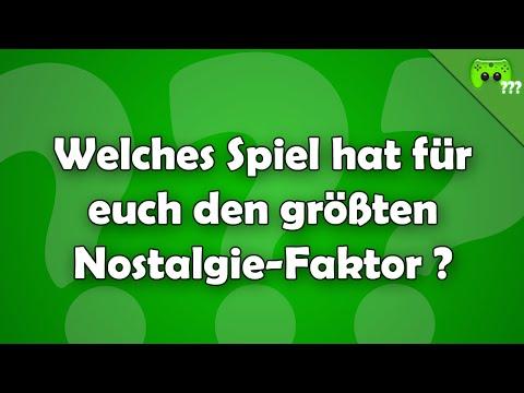 Welches Spiel hat für euch den größten Nostalgie-Faktor ? - Frag PietSmiet ?!