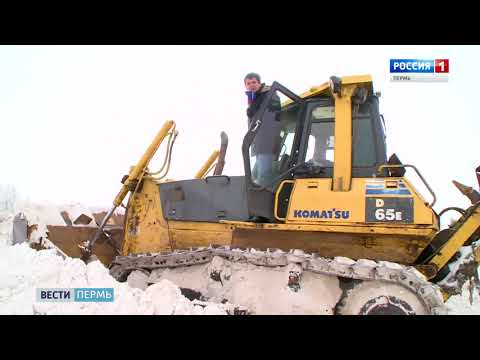 В Перми за сутки выпала недельная норма снега