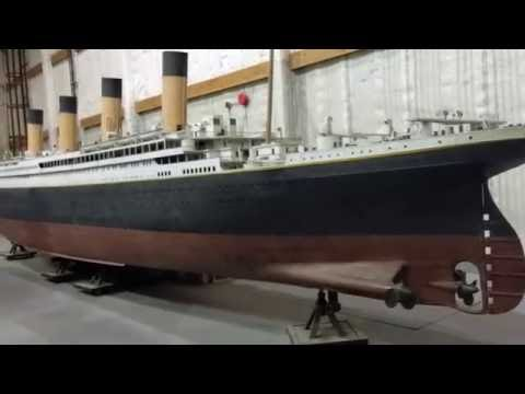 TITANIC - Original Filming Model Walkaround