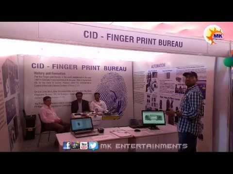 Indian Police Expo ( CID - Finger Print Bureau ) II Necklace Road Hyderabad II TELANGANA