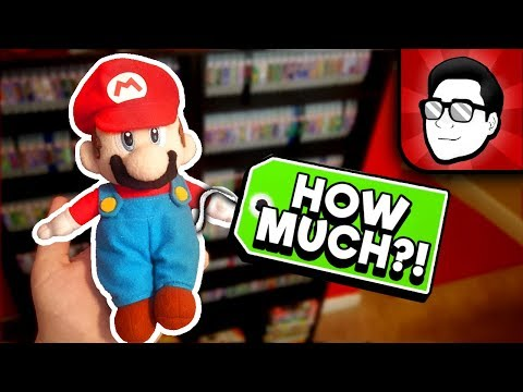The RAREST Items in my Game Collection! | Nintendrew