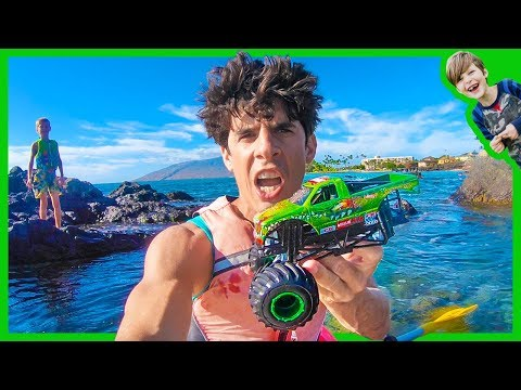 Monster Truck Rescued at SEA!