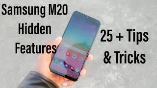 Top 25 + Samsung M20 Hidden Features / Tips & Tricks In Hindi