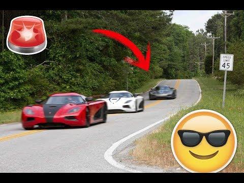 ★★  3 koenigsegg Agera R race ★★ haciendo carrera en la calle ★★( Need For Speed )
