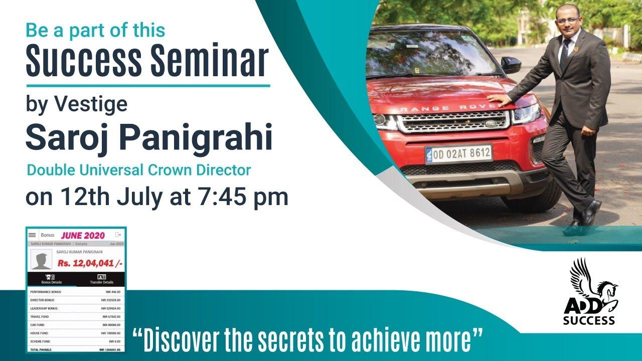 AddSuccess Seminar | Saroj Panigrahi | Double Universal Crown Director l Earning 12 Lac+ monthly