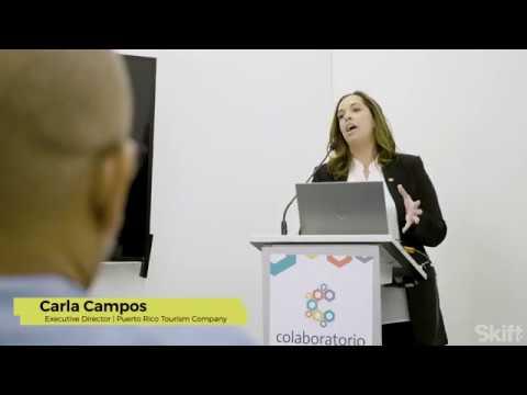 Puerto Rico Tourism Company Executive Director Carla Campos