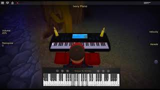Stranger Things Theme - Stranger Things by: Michael Stein on a ROBLOX piano. [Revamped]