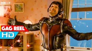 Ant-Man Gag Reel (2015) Paul Rudd Marvel Superhero Movie HD