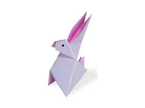 Cách gấp, xếp con Thỏ bằng giấy origami - Video hướng dẫn xếp hình - How to make a Rabbit