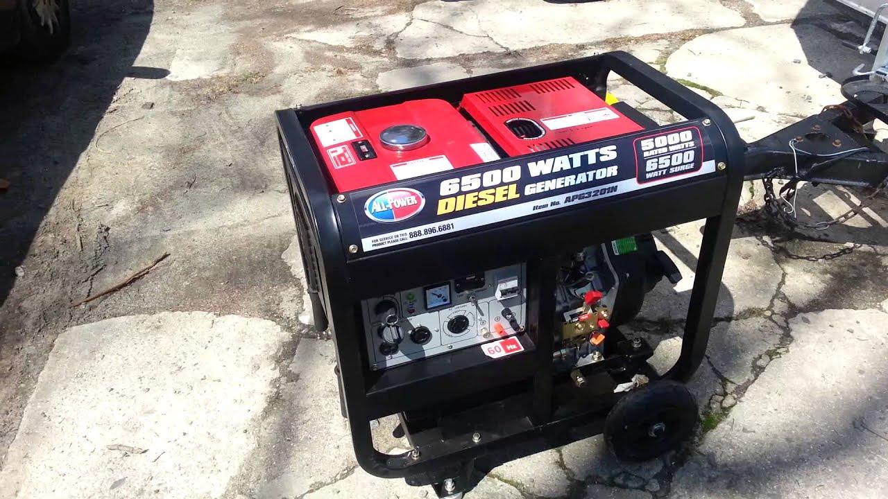 All Power Diesel Generator