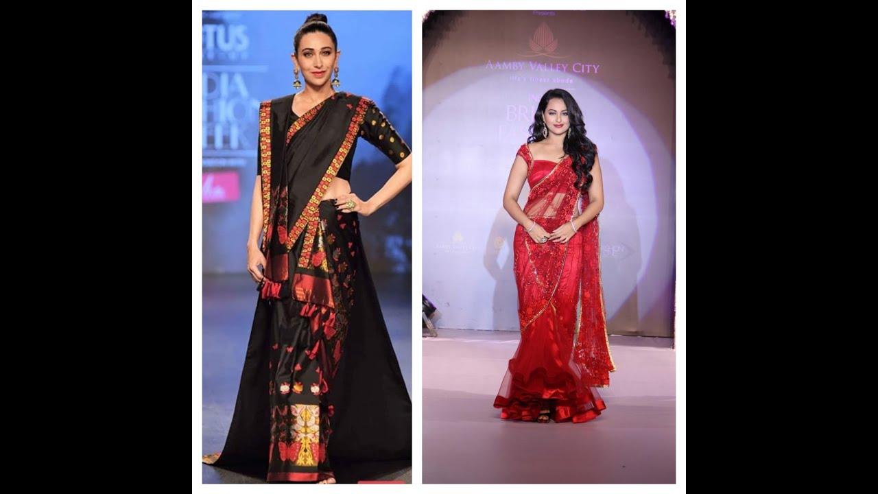 Saree drape style 2020 | Different styles of wearing saree 2020 | Fashion Style
