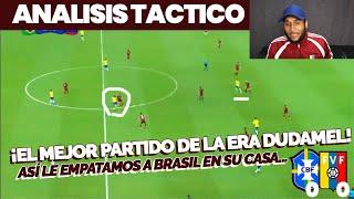 ¡ASÍ VENEZUELA EMPATÓ EN BRASIL! Analizando el Brasil🇧🇷0-0🇻🇪Venezuela de la Copa America 2019 🔥