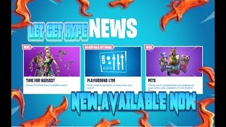 FORTNITE NEW HAY MAN & STRAW OPS SKIN & HARVESTER PICKAXE & FIELD WRATH GLIDER AVAILABLE NOW