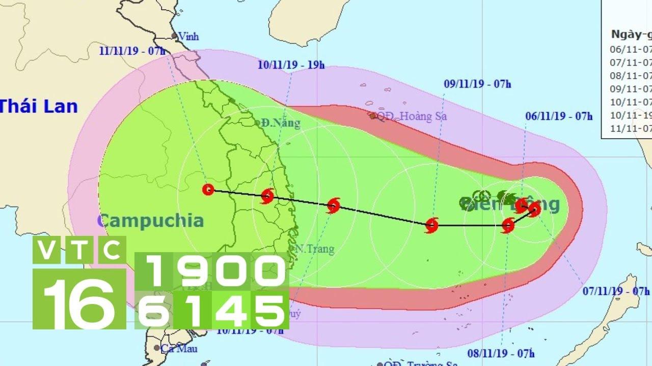 Bão số 6 tiến vào Biển Đông, miền Trung mưa dữ dội | VTC16
