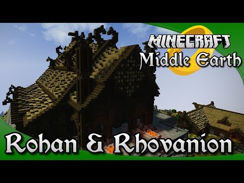 Minecraft Middle Earth Server Tour - Rohan & Rhovanion