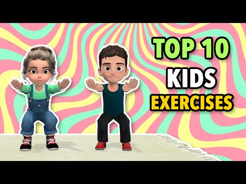 Top 10 Kids Exercises To Get Stronger Muscles