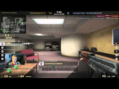 -CS:GO- Hacker banned mid-game, sweet justice
