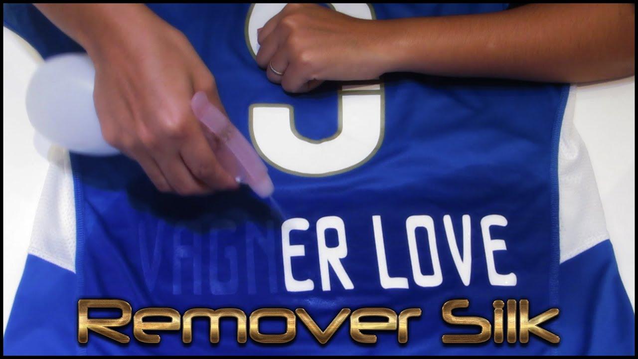 b6c15b1db479a Como remover o nome do jogador da camisa do time ( Silk )