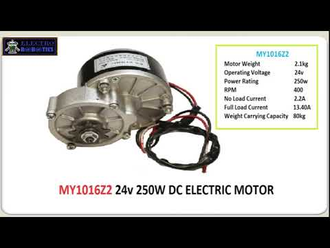EBIKE DC GEAR MOTOR   WHICH DC GEARED MOTOR IS BETTER FOR EBIKE   BY ELECTRO ROBOTICS   YouTube