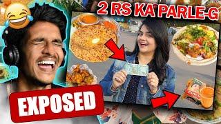 Priyanka Tiwari 50 Rs 24 Hours Food Challenge Exposed !!