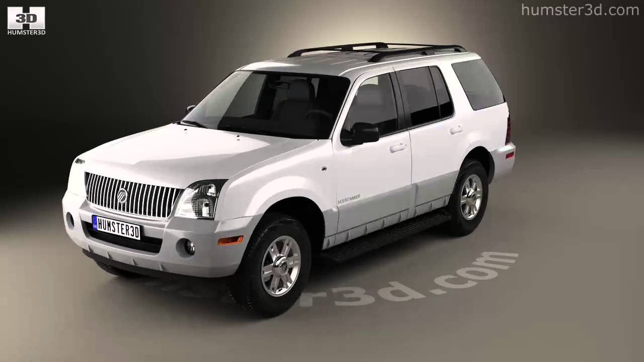 Mercury mountaineer 2001 3d model by humster3d com