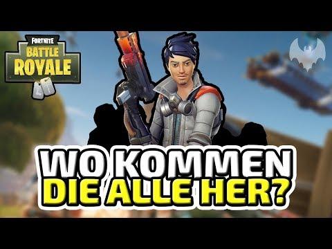 Wo kommen die alle her? - ♠ Fortnite Battle Royale ♠ - Deutsch German - Dhalucard