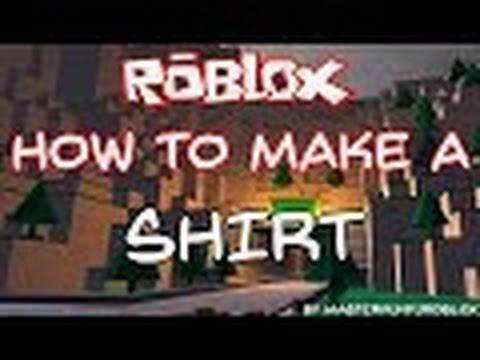 Roblox Tutorial #3: How to Copy/Make a Shirt [NBC]